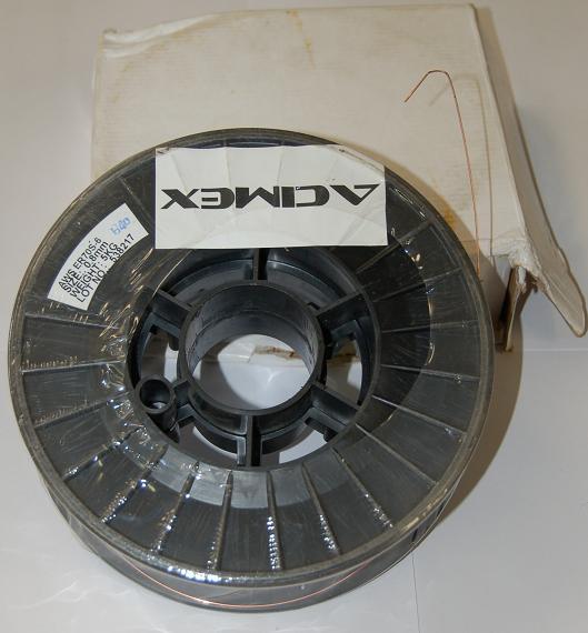 STAHLWERK fil fourr/é FLUX MIG MAG de haute qualit/é /Ø 0,8 mm universellement applicable bobine de 1 kg avec mandrin /à 16 mm fil FLUX de soudage E71T-GS