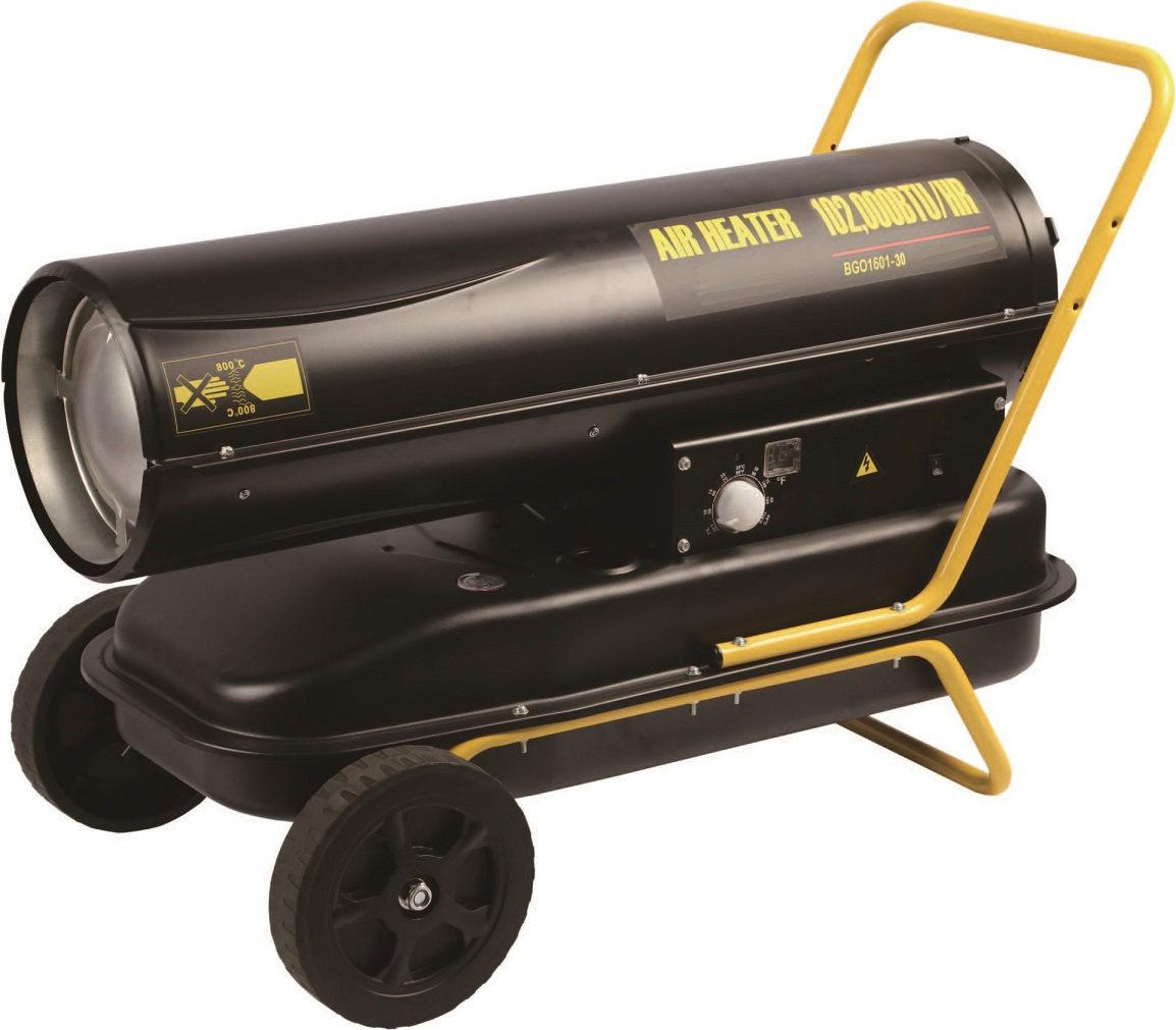 chauffage de chantier fuel 30 kw combustion directe. Black Bedroom Furniture Sets. Home Design Ideas