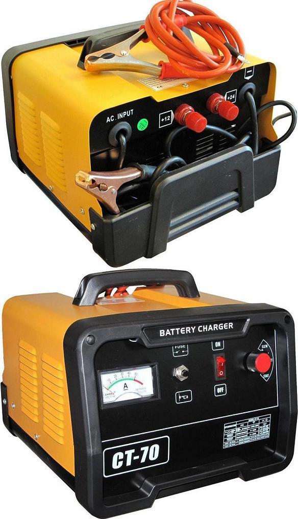 Étonnant Chargeur Booster Batterie Automatique 60A 12/24V - Chargeur UE-18