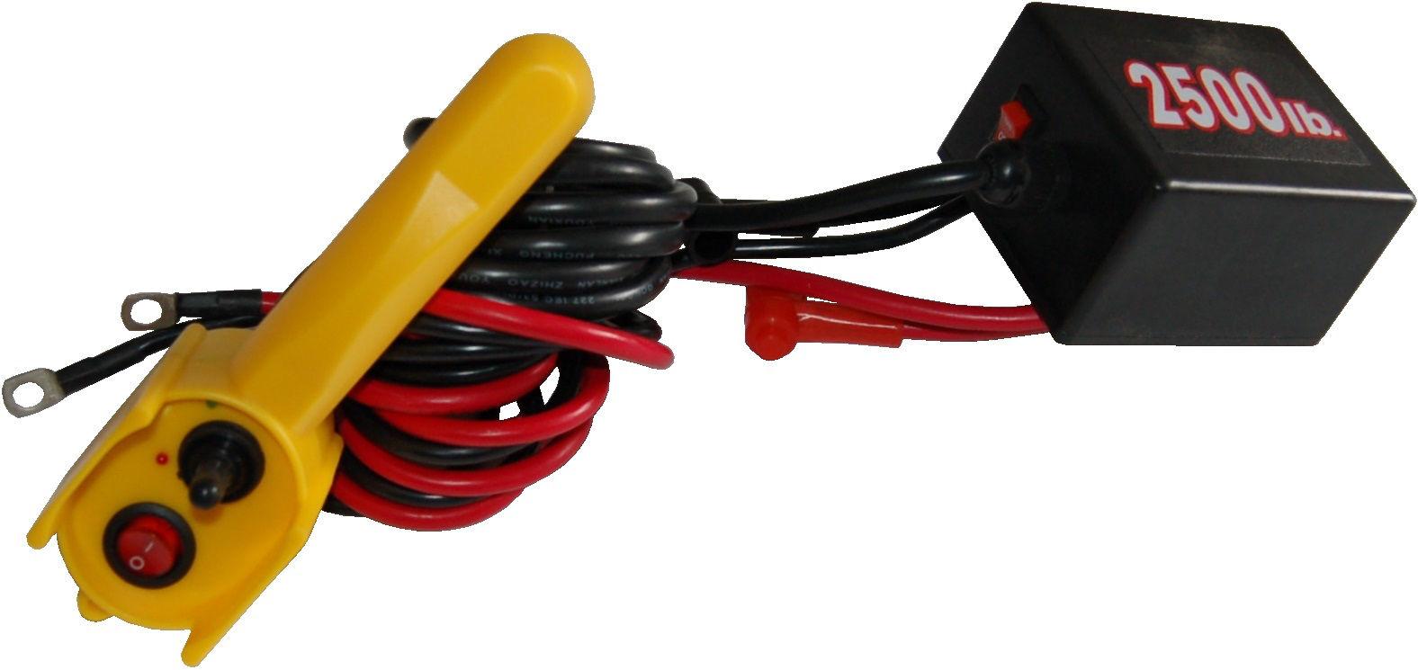 relais electrique et commande filaire de rechange pour treuil lectrique 12v r f rence dw2500. Black Bedroom Furniture Sets. Home Design Ideas