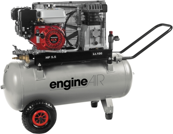 Compresseur Thermique 100L 4,8CV EngineAIR à Essence