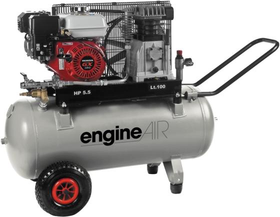 compresseur thermique 100l 4 8cv engineair essence. Black Bedroom Furniture Sets. Home Design Ideas