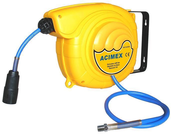 Enrouleur air comprim 9m 1 4 pro enrouleur et tuyau seul - Enrouleur air comprime ...