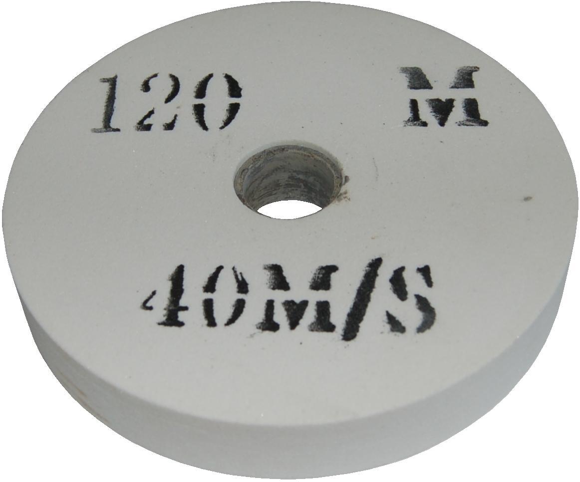 Meule blanche 200 mm d 39 aff tage hss grain tr s fin 120 touret meuler - Meule d affutage ...