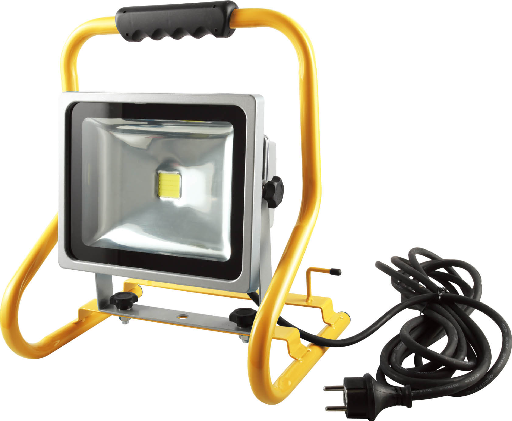 projecteur de chantier led 30w portable ip44 eclairage projecteur et baladeuse