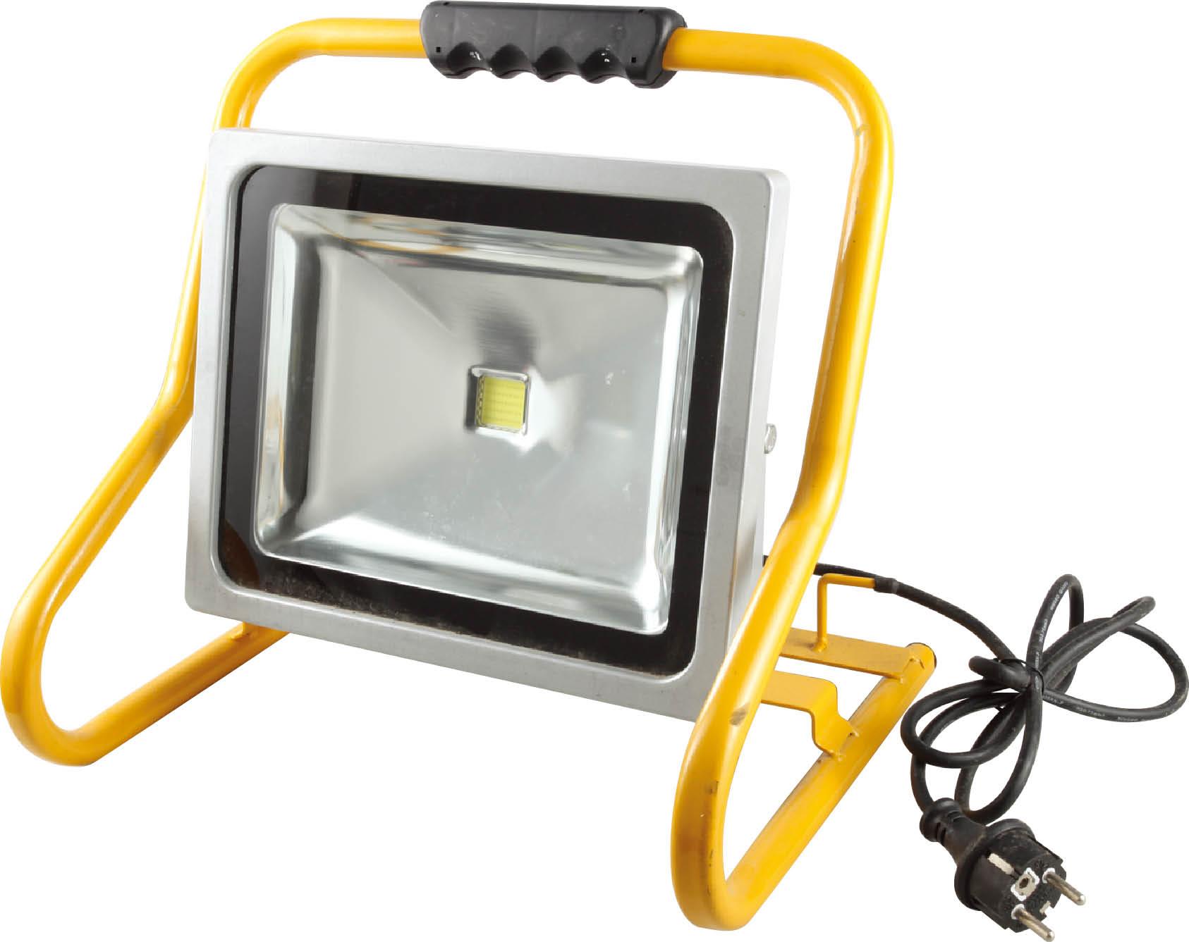 projecteur de chantier led 50w portable ip44 eclairage. Black Bedroom Furniture Sets. Home Design Ideas