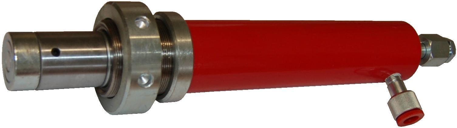 Verin de presse hydraulique bande transporteuse caoutchouc for Fabrication presse hydraulique maison