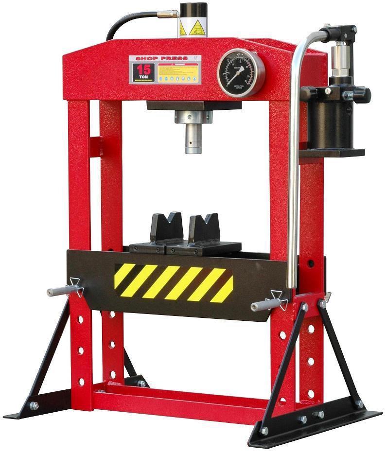presse hydraulique d 39 tabli 15t manuelle presse d 39 atelier