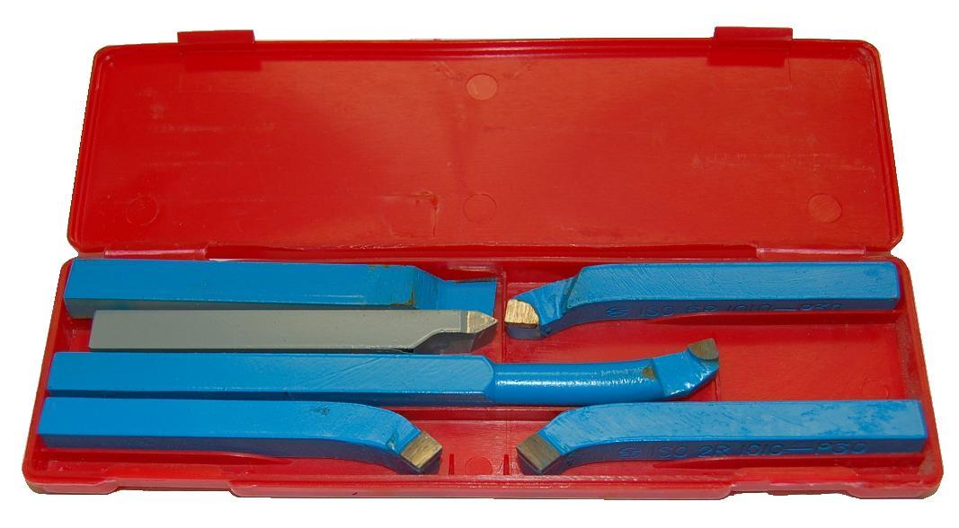 coffret de 6 outils pour tour m taux outils de coupe pour tour m taux. Black Bedroom Furniture Sets. Home Design Ideas