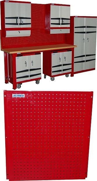 panneau perfor 636mm mobilier d 39 atelier. Black Bedroom Furniture Sets. Home Design Ideas