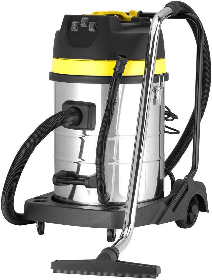 aspirateur eau et poussi re professionnel 70l 3000w cuve inox 3 moteurs aspirateur eau et. Black Bedroom Furniture Sets. Home Design Ideas