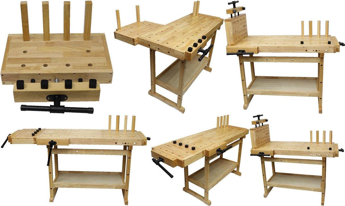extension avec tau pour tabli bois de menuisier ym 3303 ym 3308 et ym 3311 tabli bois. Black Bedroom Furniture Sets. Home Design Ideas