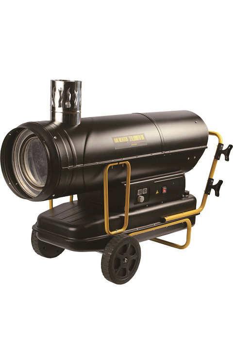 chauffage de chantier fuel 50 kw combustion directe. Black Bedroom Furniture Sets. Home Design Ideas