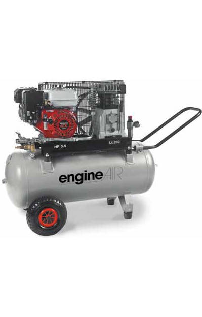 Compresseur Thermique 200L 4,8CV EngineAIR à Essence