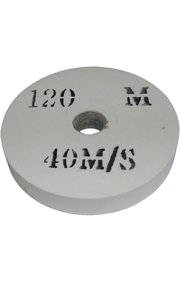Meule blanche 150 mm d 39 aff tage hss grain tr s fin 120 touret meuler - Meule d affutage ...