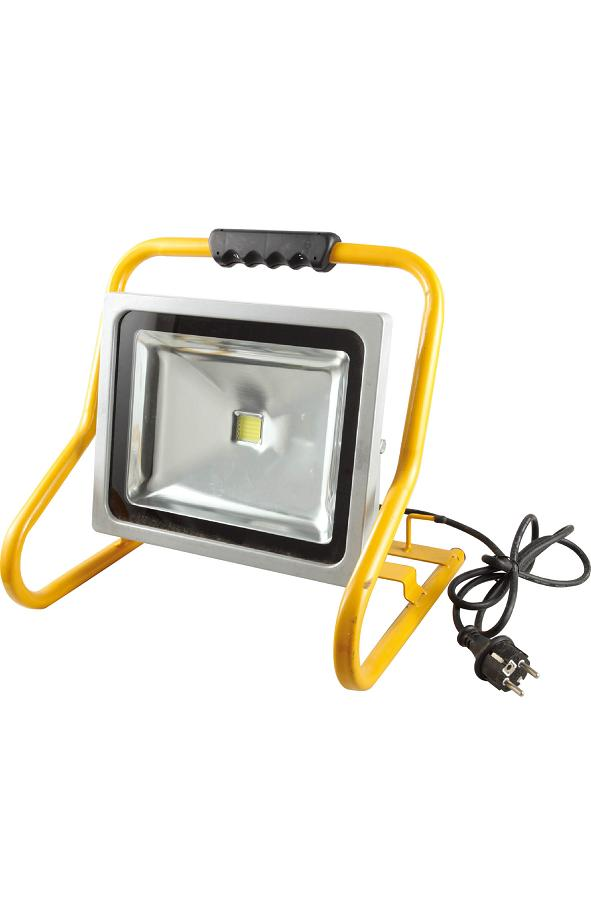 Projecteur De Chantier Led 50W Portable IP44