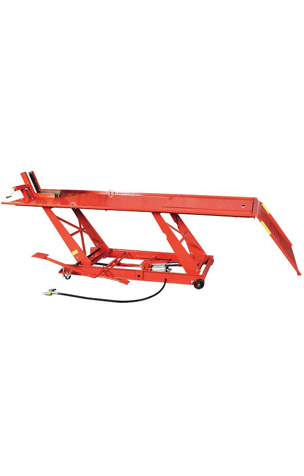 Table Élévatrice Moto Pneumatique Manuelle 450 Kg