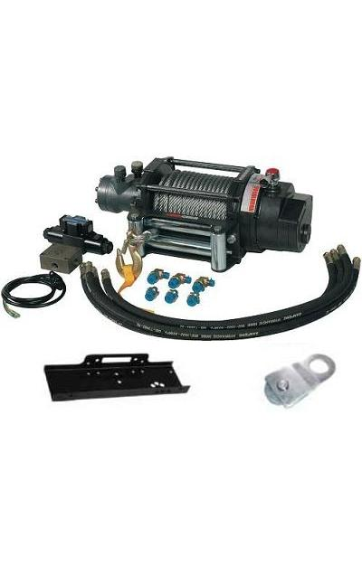 Treuil Hydraulique 12V Traction Max 7491 kg